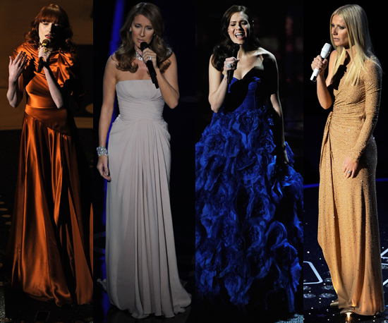 Florence got more fiery, Celine stayed polished, Mandy turned blue, ...