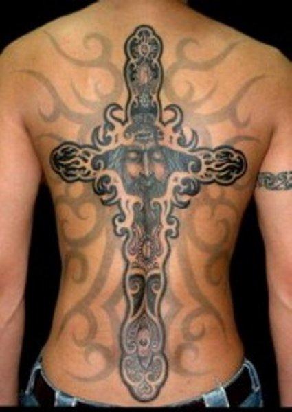 Celtic Necklace Tattoo Celtic Cross Tattoo Designs 2