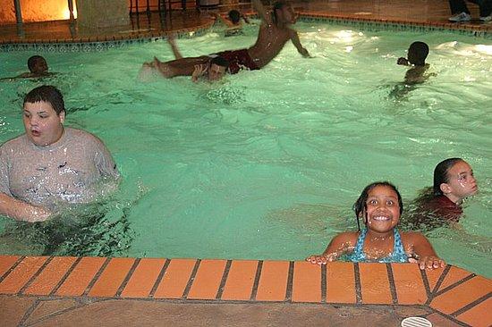 Hotel pool fun!