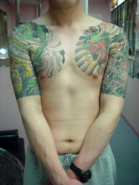 dragon tattoos for guys. Japanese Dragon Tattoos Sleeve
