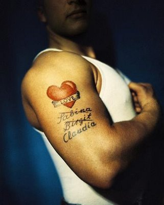 letter tattoos for guys. ideas for tattoos for guys.