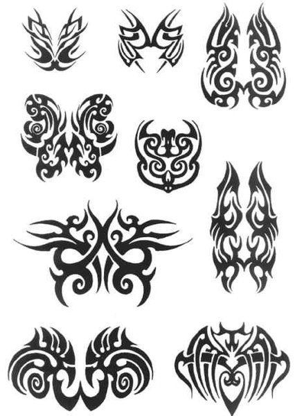 mens tribal tattoos. men, Mens