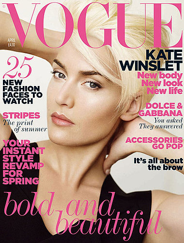 Kate Winslet Vogue April. Vogue, Kate Winslet sports