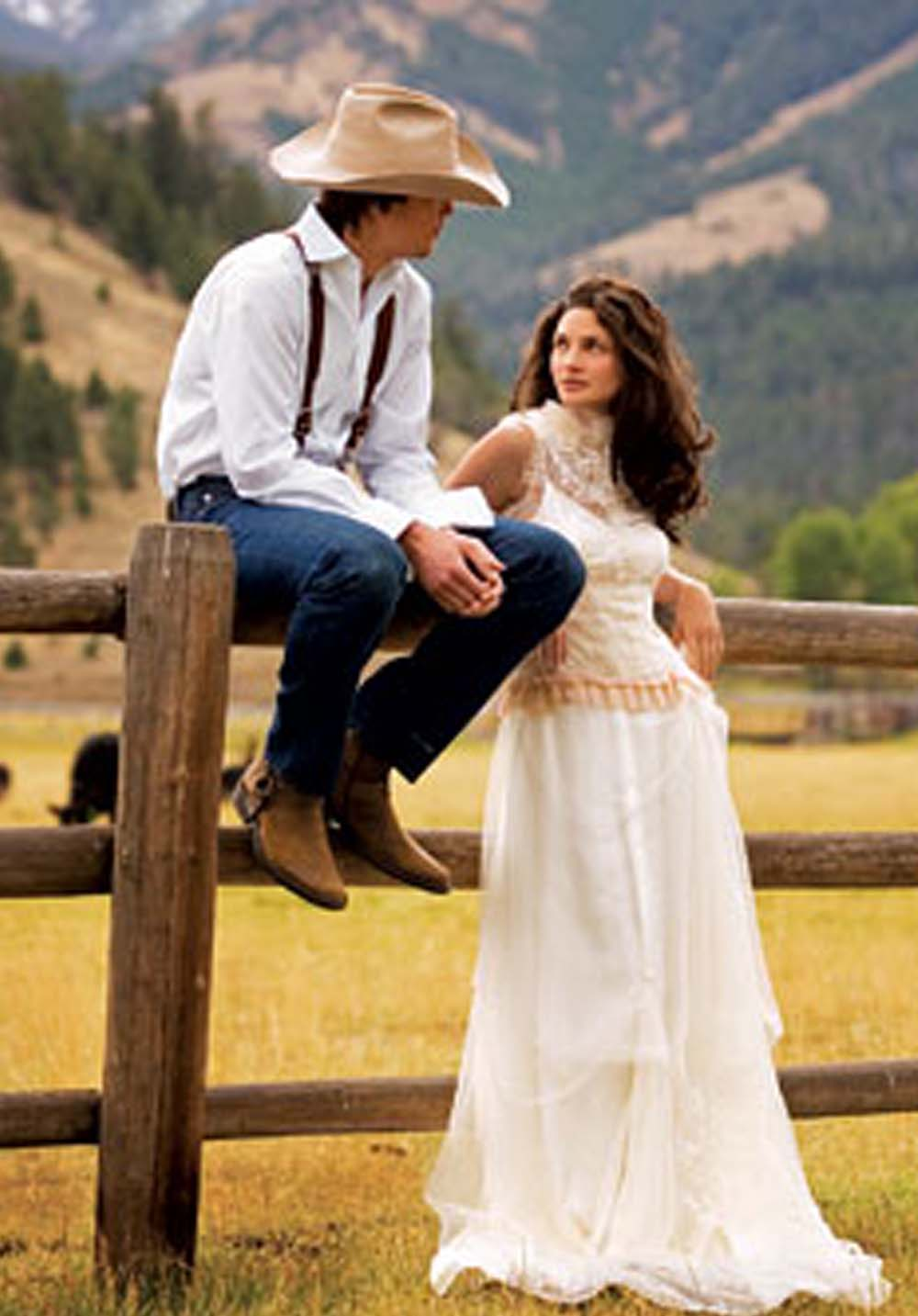 Western Wedding Dresses Style ~ WEDDING