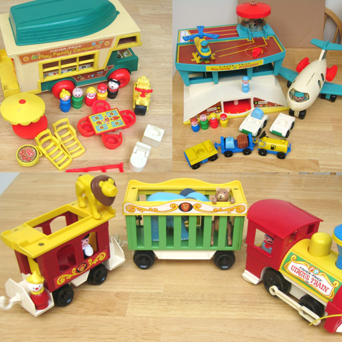 vintage fisher price toys for kids popsugar moms. Black Bedroom Furniture Sets. Home Design Ideas