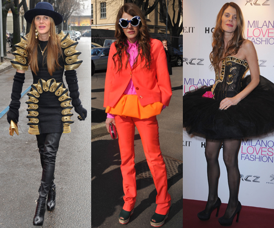 Check Out Anna Dello Russo's Crazy Fashion Week 'Fits