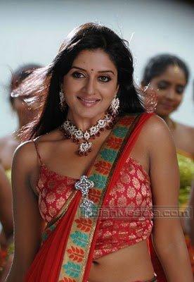 South Cute Actress Vimala Raman super hot Pictures in saree in Ranga The Donga