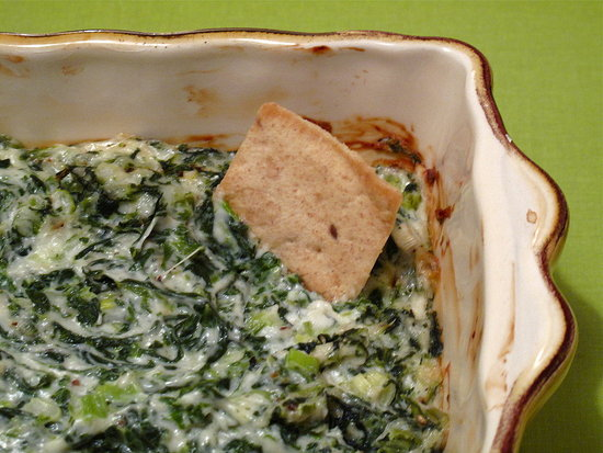 Healthy, Fast, and Easy Recipe For Hot Spinach Dip | POPSUGAR Food