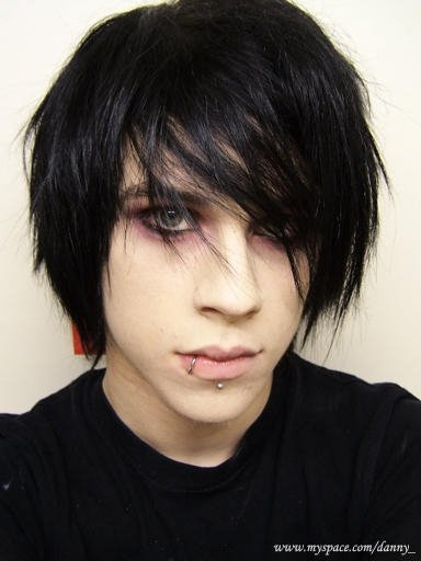 blonde hairstyles men. Cool Emo Hairstyle for Men Emo