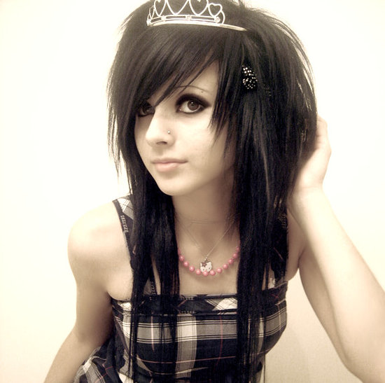 emo makeup look. by emo hairstyles eautifulemo