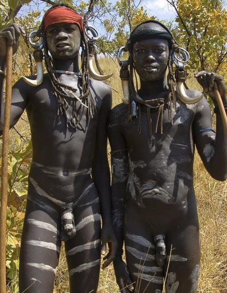 African Family Nudism