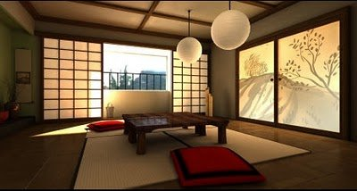 Asian Dining Room Furniture on Japanese Dining Room Design Inspiration