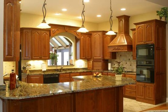 Golden Crystal Granite Slab Countertops