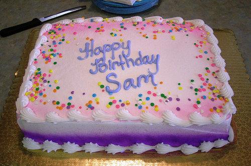 Birthday Cake With Decorate  Image Inspiration Of Cake And - Cake decorating birthday