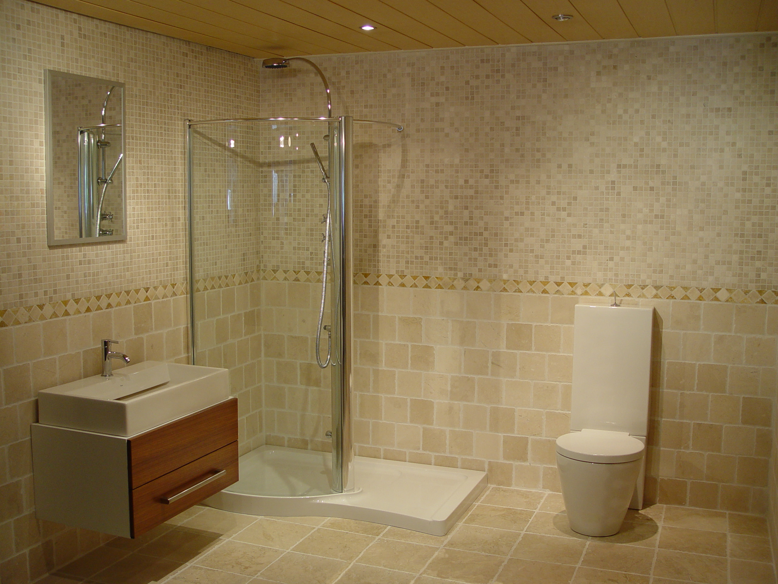 Home design tile bathroom ideas Small bathroom tile design tips