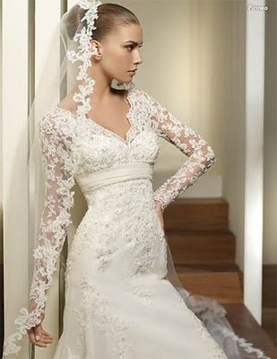 Wedding dresses sleeves