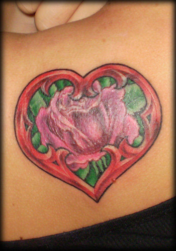 Heart tattoos represent the