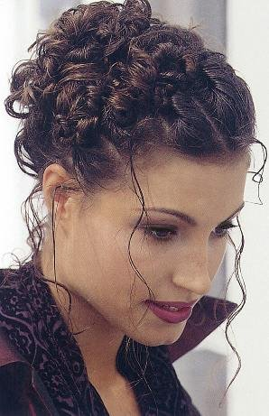 curly updo hairstyles 2011. lovely curl updo