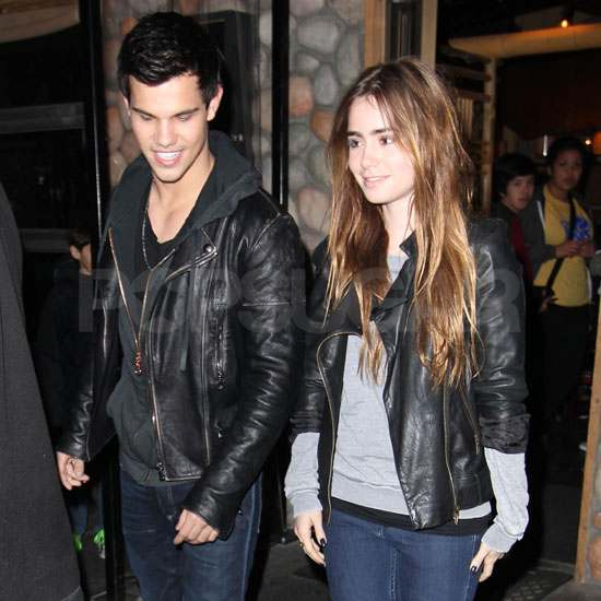 taylor lautner and lily collins dating Lily collins and zac efron have been tight-lipped about who was previously linked to her abduction costar taylor lautner peoplecom may receive a.