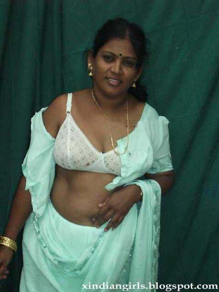 Indian Removing Saree