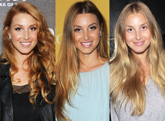 whitney port hair colour 2011. Over the weekend, Whitney Port