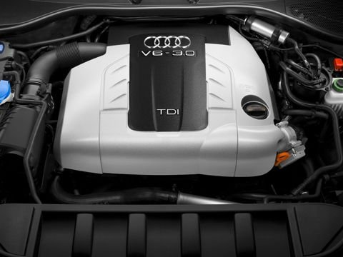 Audi Q7 2010 Wallpaper. 2010 Audi Q7 Engine