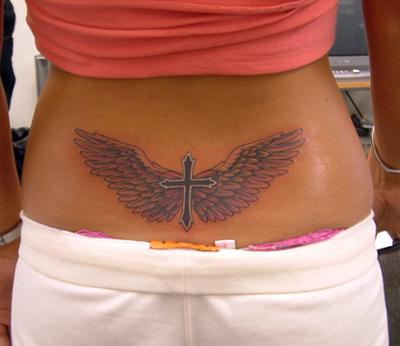 cross tattoos for men on back. Cross Tattoos For Men Back.