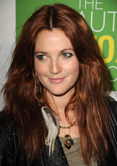 Red Hair Celebrities. Celebrities love to change