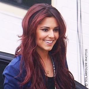 red hair rinse on ... her cherry red hair color the uk singer got the ...