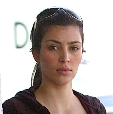 kim kardashian without makeup on. kim kardashian no makeup 2011.