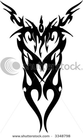 Tribal Heart Tattoos For Women. images heart tattoos, rainbow