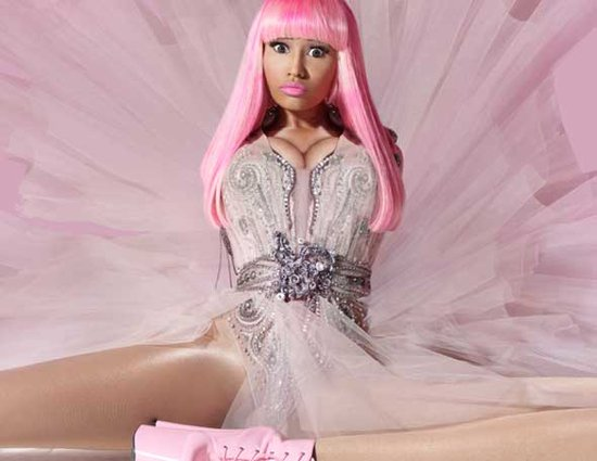 nicki minaj pink friday necklace. 2011 nicki minaj cd cover pink