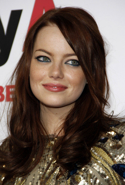 emma stone hair colour. emma stone red hair color.