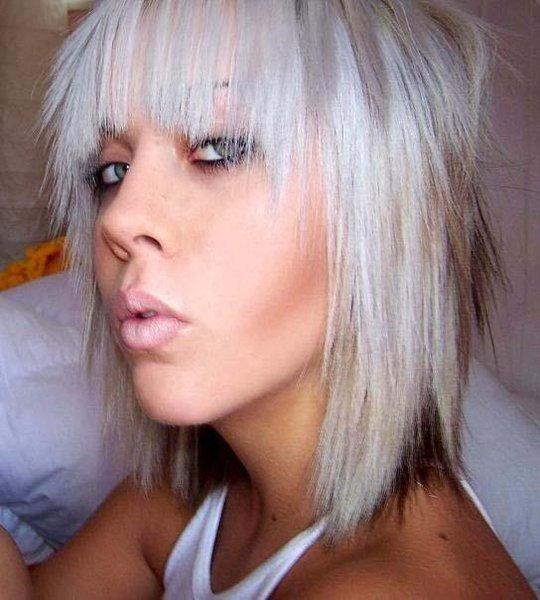 Emo Hair Girls