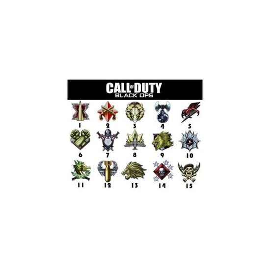 call of duty black ops prestige ranks. Call of Duty: Black Ops