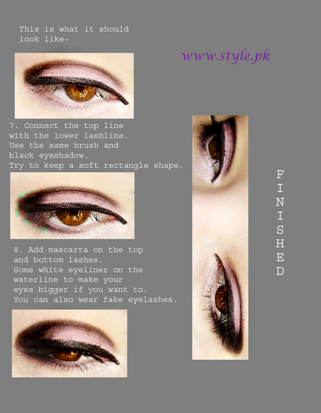 pakistani makeup tutorial. Eye Makeup Tutorial For Girls