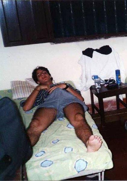 стояк у спящего фото