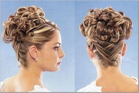 hairstyles with bangs_16. cute wedding hairstyles.