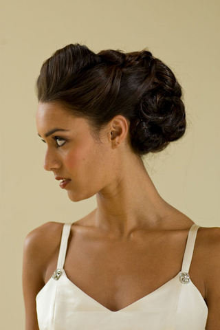 messy updo hairstyles for medium length hair