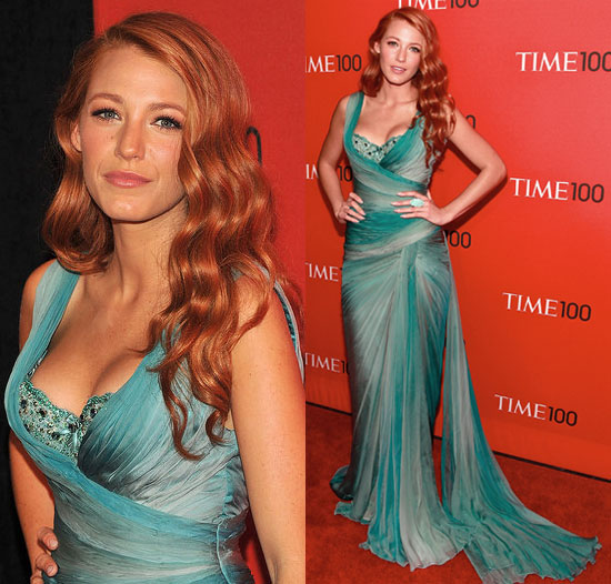 blake lively weight. PHOTOS Blake Lively Red Hair