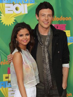 Selena Gomez and Cory Monteith-KCA 2011