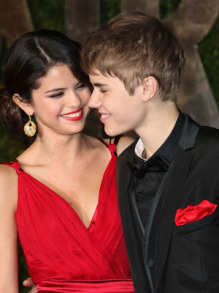 Selena Gomez and Justin Bieber confirmed their relationship on the red carpet in February