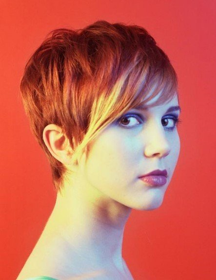 trendy short haircuts for women 2010. trendy short hairstyles