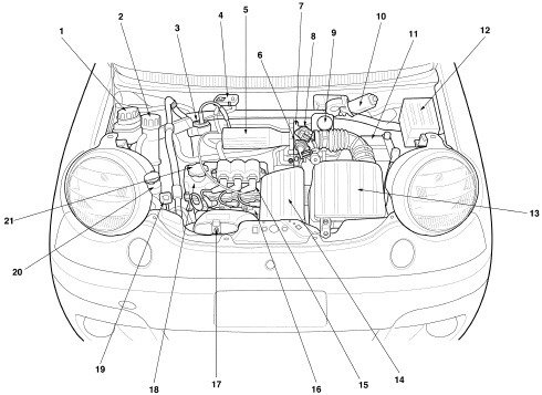 daewoo lanos engine diagram daewoo wiring diagrams online