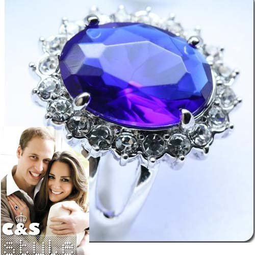princess diana wedding ring replica. princess diana prince william