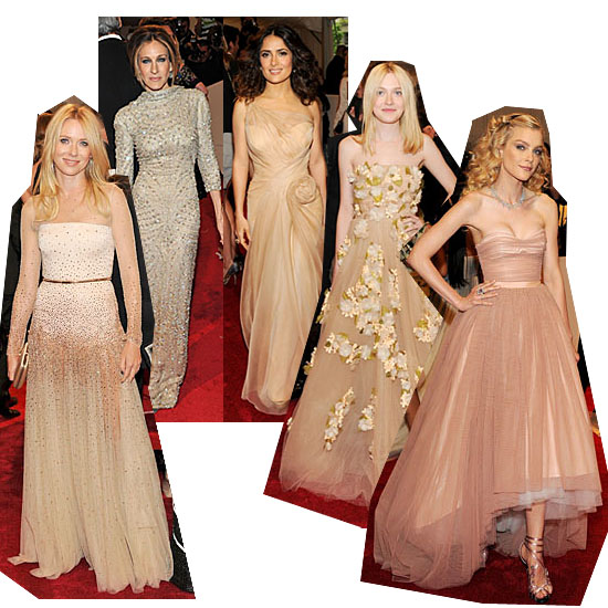 In the Nude: Subtle Hues Shine On at the Met Gala