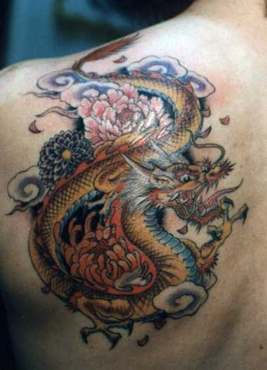 japanese dragon tattoo sleeve designs. Tattoo Design: Sleeve Tattoo Designs - Tribal, Japanese and Dragon Tattoos. Japanese Oriental Dragon Tattoo Designs