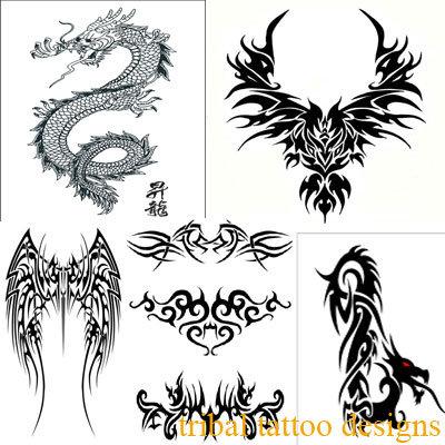 tribal dragon tattoos for men. Dragon Tattoos for Men. tribal