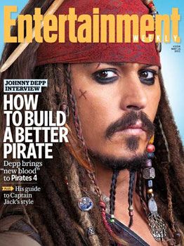 Johnny depp entertainment weekly cover popsugar entertainment
