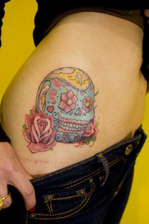 candy skull tattoo. candy skull tattoo. Sugar Skull tattoo Cover up; Sugar Skull tattoo Cover up